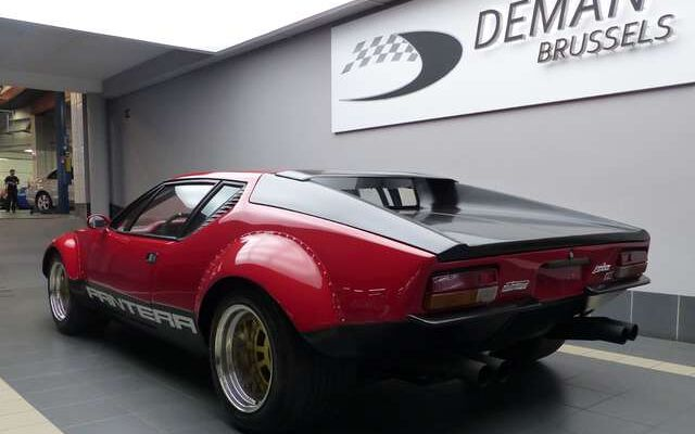 De Tomaso Pantera 1973 GTS  type 874  ***Rally car***