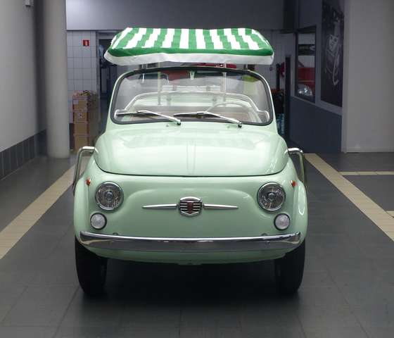 Fiat 500 ***Jolly-tribute*** 650cc * Synchronized gearbox