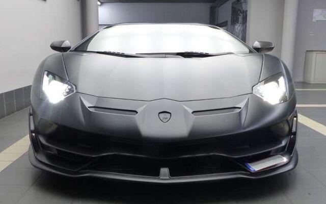 Lamborghini Aventador ***SVJ***  Nerro Pulso Matt