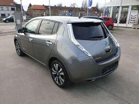 Nissan LEAF 30kWh LEDER * GPS * VERWARMD STUUR EN STOELEN *