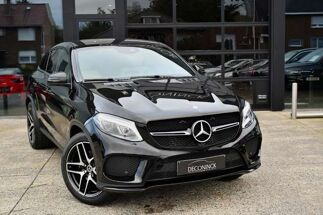 Mercedes GLE 350 d COUPE 4-Matic - AMG PACK - NAVI - BLUETOOTH