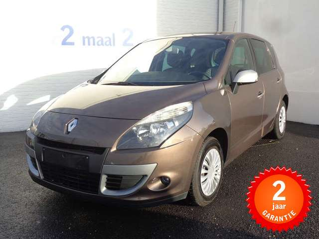 Renault Scenic 1.6i incl 2 JAAR garantie! BEL ONS!