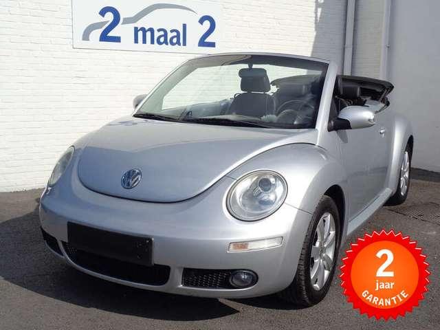 Volkswagen New Beetle 1.6i Cabrio/Airco/Leder incl 2 JAAR garantie!