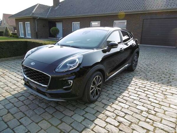Ford Puma 1.0 EcoBoost Titanium agate black  NAVI