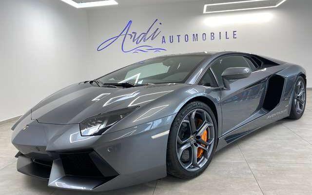 Lamborghini Aventador 6.5L * V12* LP700-4 * LIFT ** BELGIUM CAR **