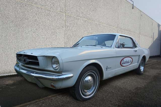 Ford Mustang AUTO Historic Belgian Registration
