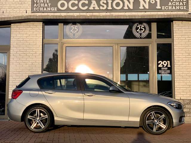 BMW 116 Boite Auto/ GPS/ Cuir/ Radar Ar