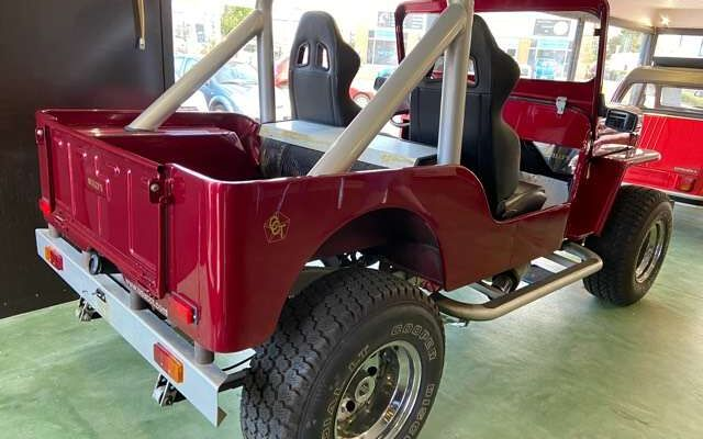 Jeep Willys cj3b LOOK USA !!!! MOTEUR V8