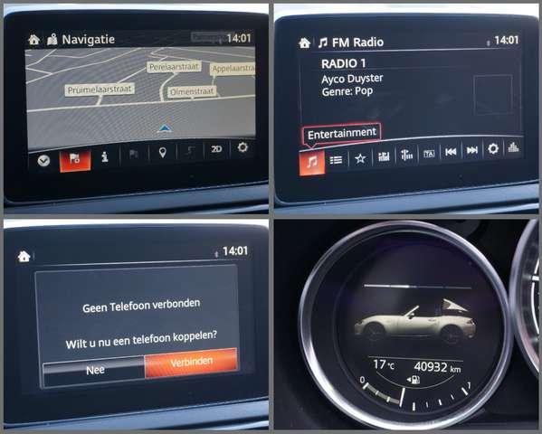 Mazda MX-5 2.0i Automaat/ Navi/ Leder/ Camera/ Garantie*