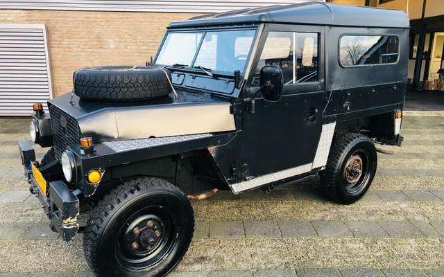 Land Rover Series 3 Light Weight Metal Top 1978