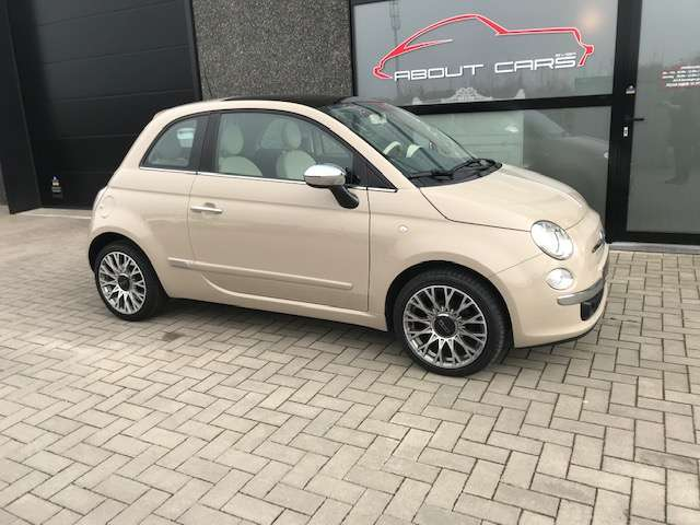 Fiat 500 1.2i Lounge  TOPSTAAT !!