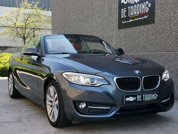BMW 220 CABRIOLET*CUIR*XENON*SPORT EDITION*GARANTIE*