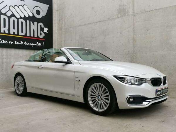 BMW 420 Cabriolet*Luxury Line* Cuir*Navi*Boîte auto*