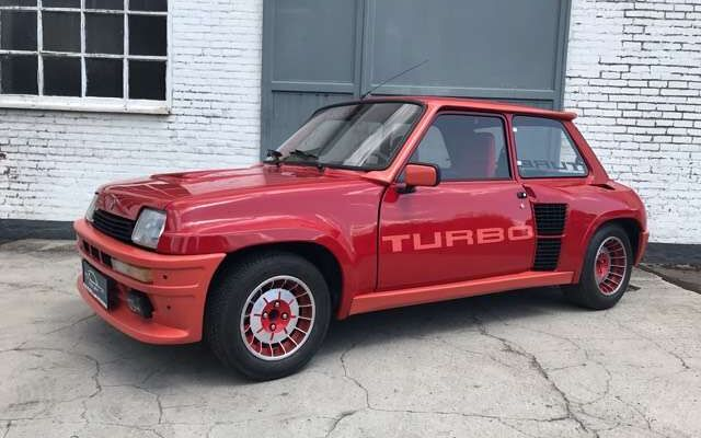 Renault R 5 TURBO 1 état d'origine - attestation Renault