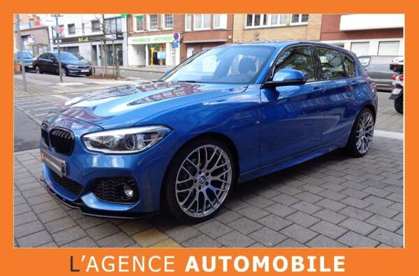 BMW 116 - PACK M Bleu Estoril - Garantie 12 Mois