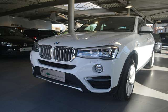 BMW X4 2.0 dA xDrive20 / LEDER / NAVI / HEAD-UP / SCHUIFD