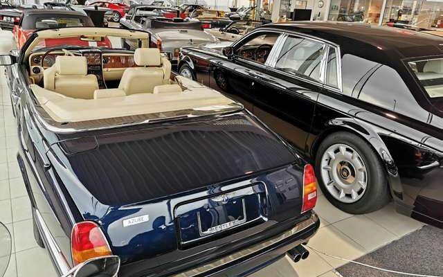 Bentley Azure Azure Luxury Convertible