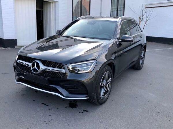 Mercedes GLC 200 4M hybride AMG Navi Memorypak 360°cam Carplay