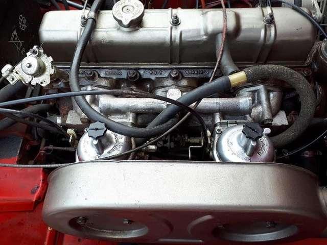 Triumph TR6 6 cyl in lijn GEKEURD VOOR VERKOOP MET GARANTIE