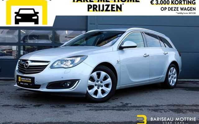 Opel Insignia 2.0 CDTI SPORTS TOURER INNOVATION *AUTOMAAT*LEDER*DIGITAL DISPLAY*GPS*SENSOREN*AIRCO*