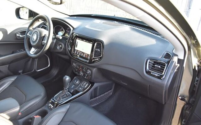 Jeep Compass 1.4 Turbo 170 4WD Limited Autom./Navi/Zetel,Stuurverw./Dab+/Cam