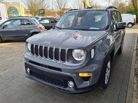 Jeep Renegade Limited 1.3TB 150PK Automaat Directiewagen