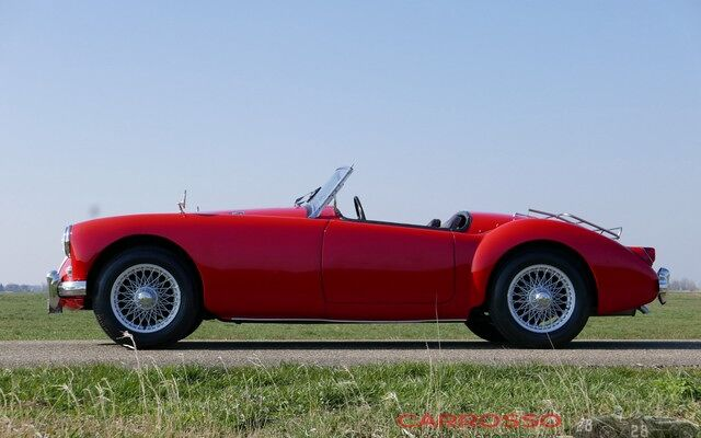 MG A 1500 Roadster Restored