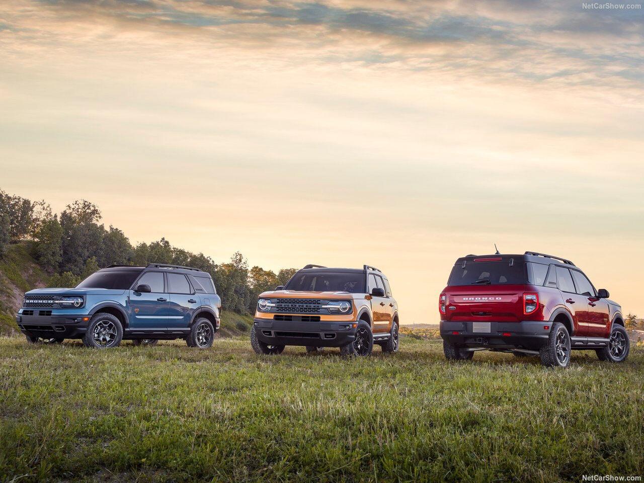 Ford Bronco Frist edition & Badlands 4x4