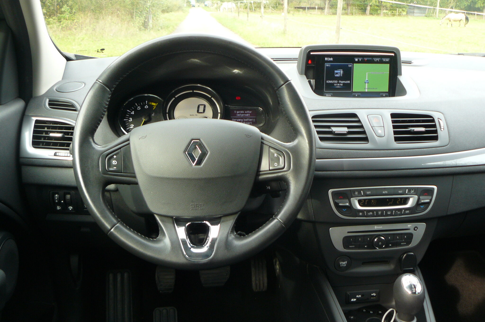 Renault Megane 1.2 TCe Navi Cruise C. Zetelverw.