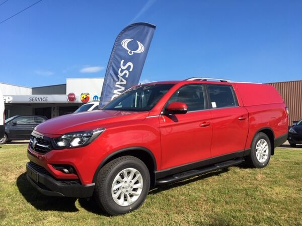 SsangYong Musso Grand Musso 2.2 XDI Sapphire - Automaat met Hardtop