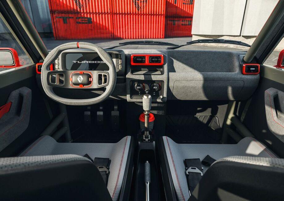 Interior del Renault 5 Turbo 3