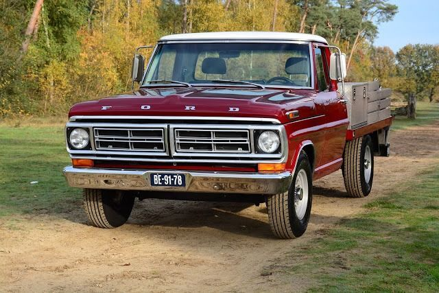 Ford USA F 250 Pick Up V8 Special 1972