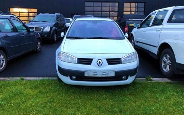 Renault Megane VOOR EXPORT EN/OF ONDERDELEN