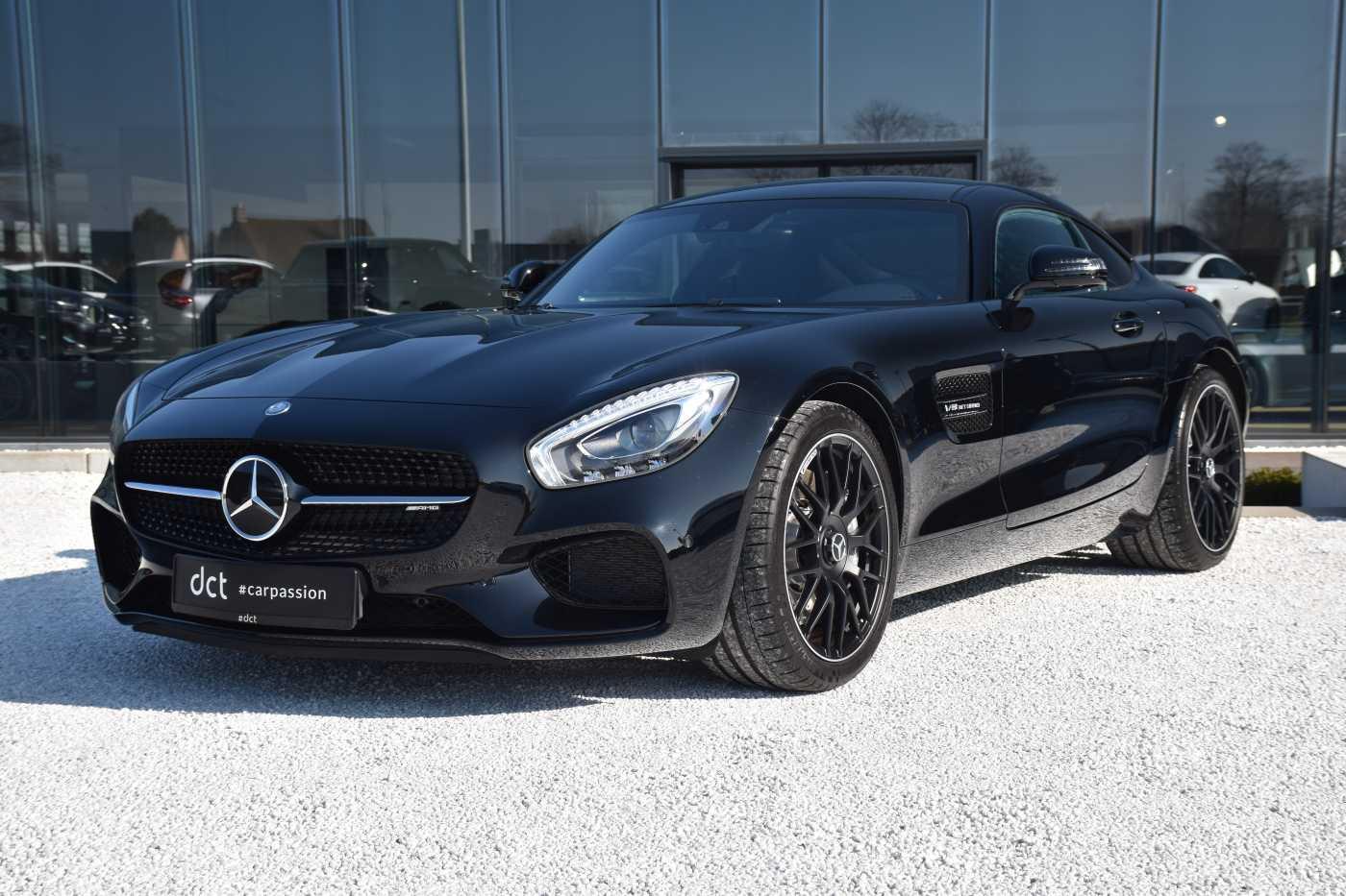 Mercedes AMG GT NIGHT EDITION Nico Rosberg**3700KM**DISTRONIC