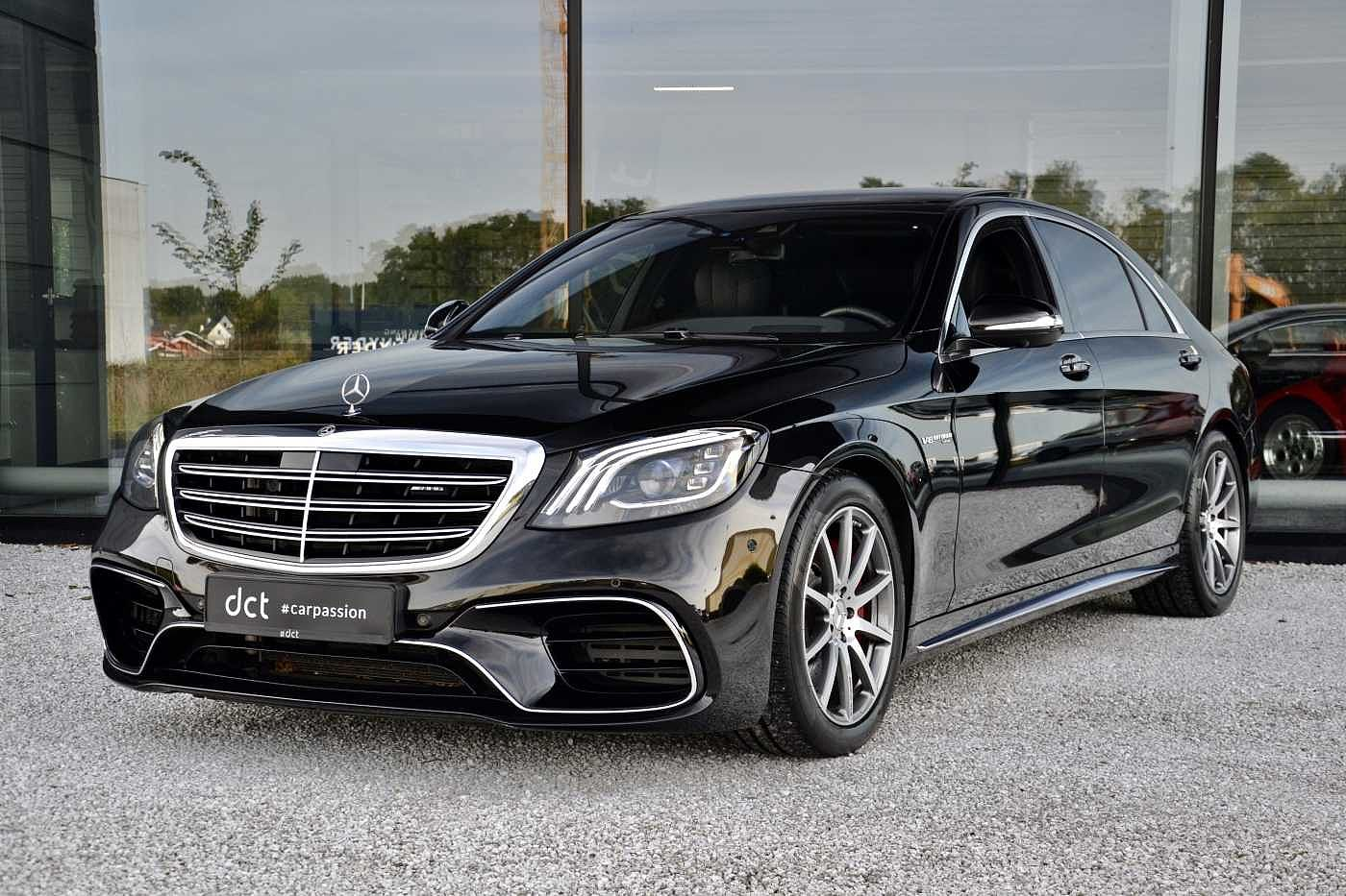 Mercedes S 63 AMG L Nightvision Exclusive Plus RearEntertain Pano