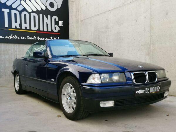BMW 318 3 CABRIOLET*CUIR*JA*CAPOTE ELECT*SUPERBE !!