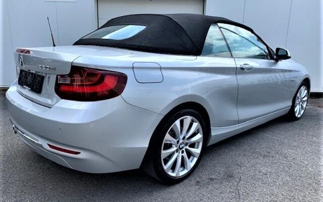 BMW 220 Cabrio d cabriolet boite auto 2.0d