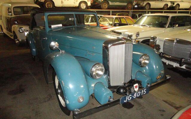 Alvis TA14 Pennock Cabrio RHD
