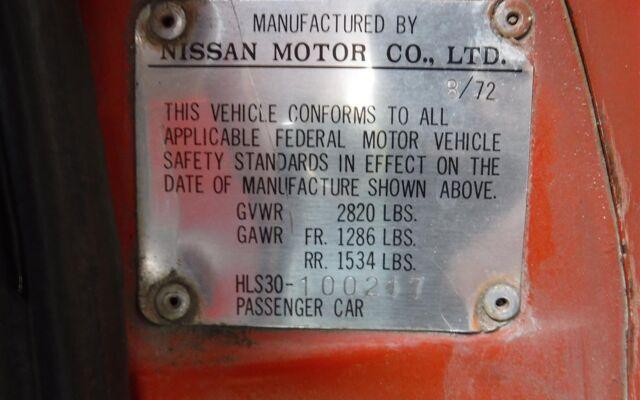 Datsun 240Z 72 red 100217