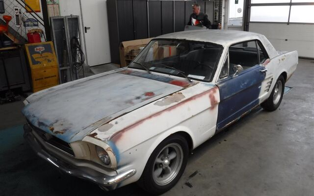 Ford Mustang A code 1966