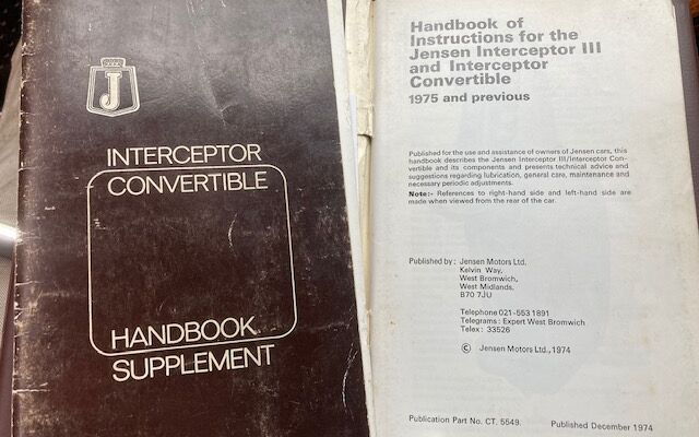 Jensen Interceptor Convertible