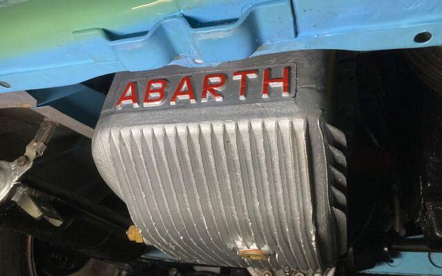 Abarth Allemano spider blue