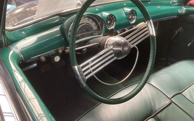 Simca 8 sport cabrio groen