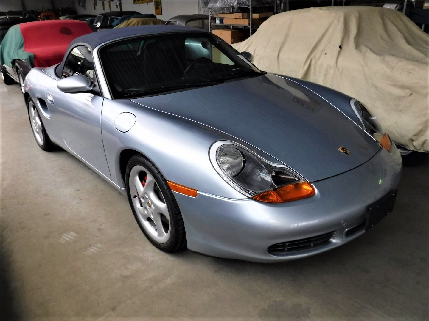 Porsche Boxster S from 2001