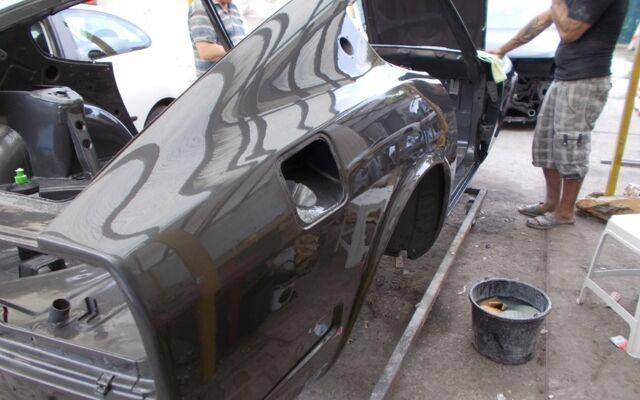Datsun 240Z 72 restored