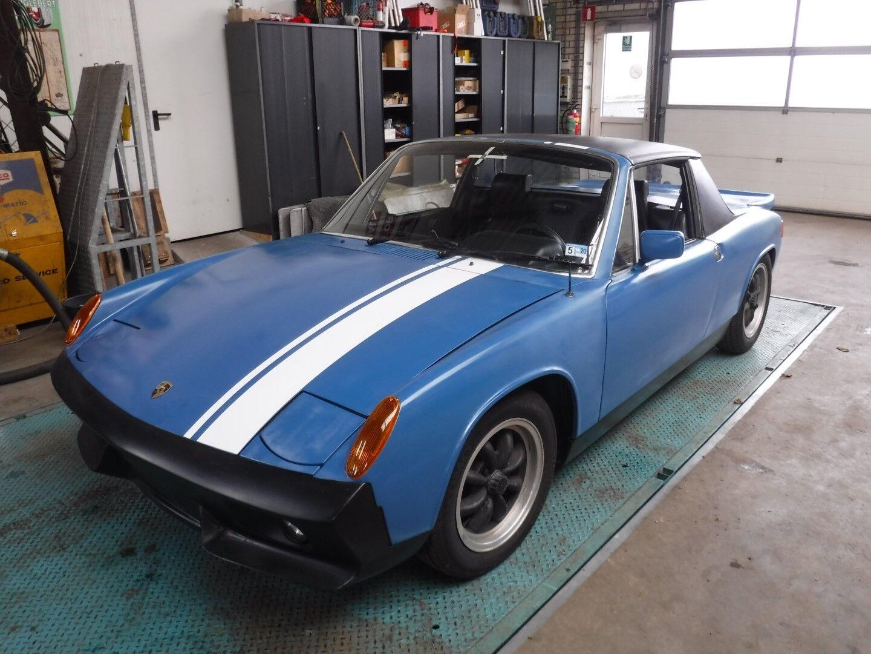 Porsche 914 2.0 ltr blauw