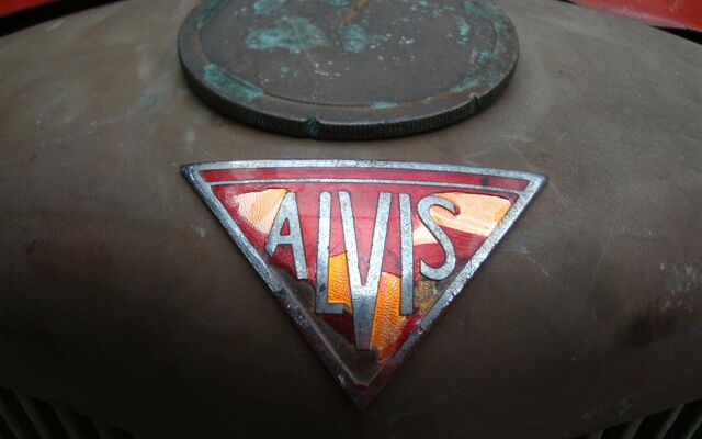 Alvis  TA14 DHC RHD