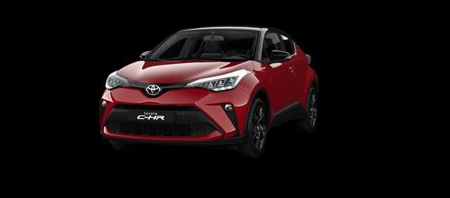 Toyota C-HR 5 deurs 1.8L Hybrid e-CVT C-lub + Visibility Pack