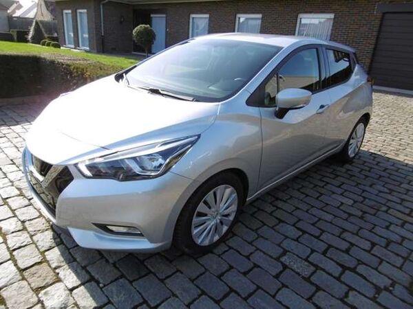 Nissan Micra 1.5 dCi acenta Airco, parkeersensoren, navi,cruise