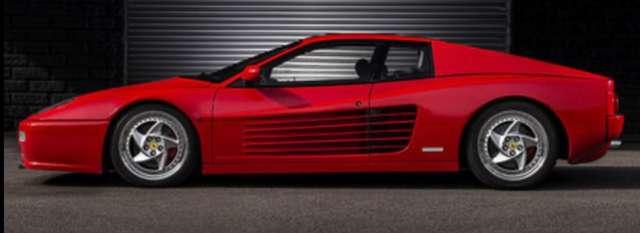 Ferrari F512 M ROUGE infos uniquement sur demande.